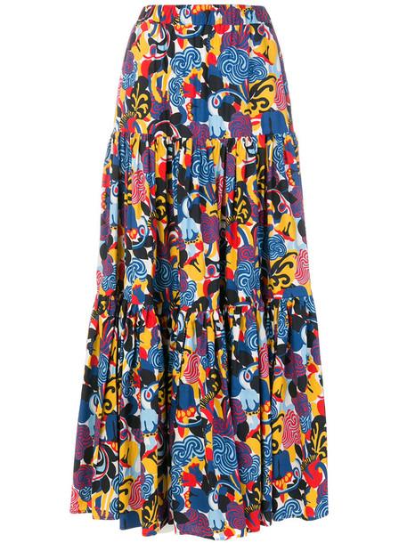 skirt women cotton print