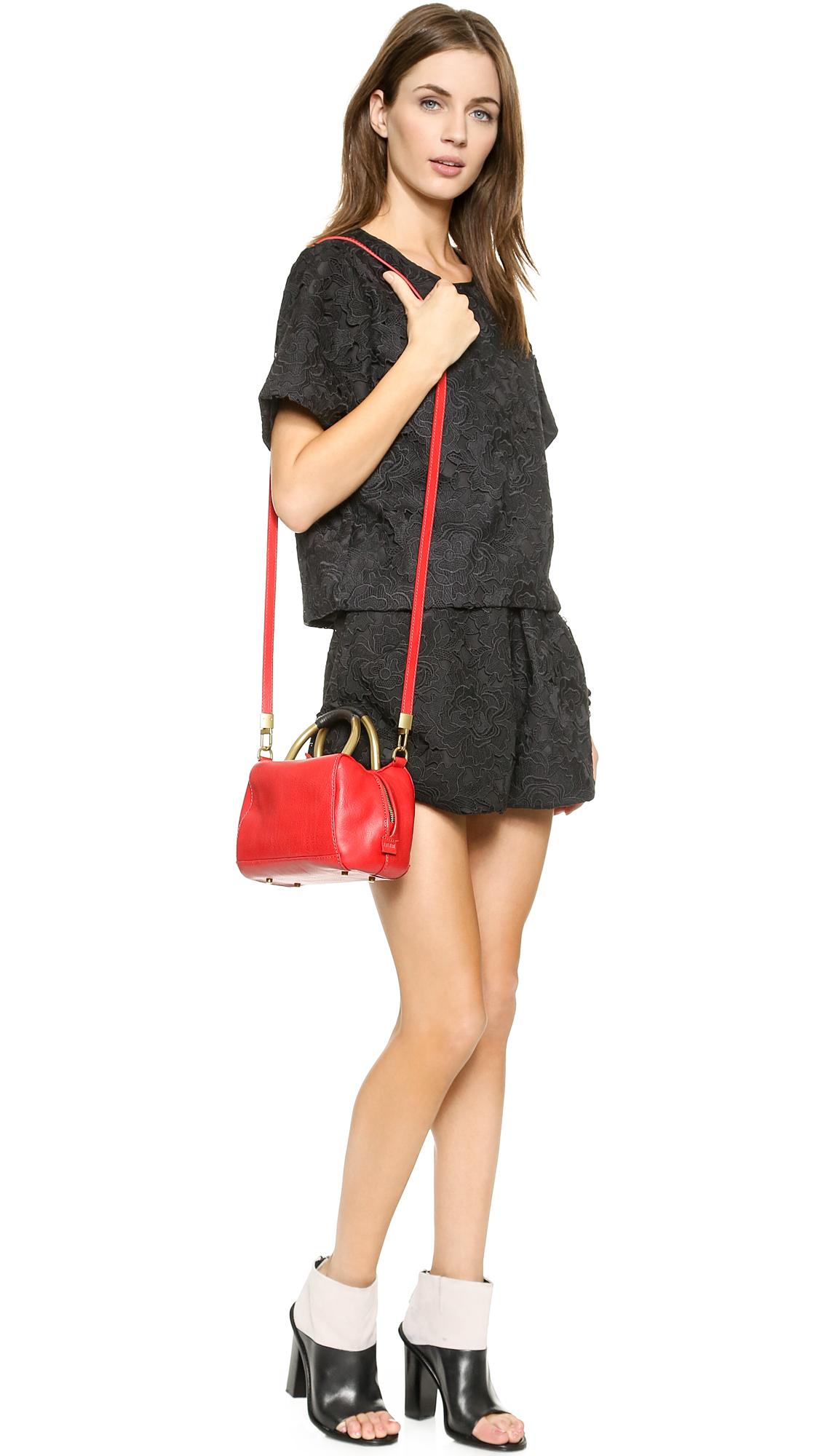 Hare   hart nappa leather mini satchel