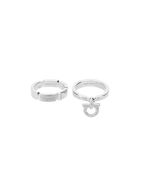 metal women ring grey metallic jewels