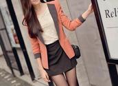 jacket,coral