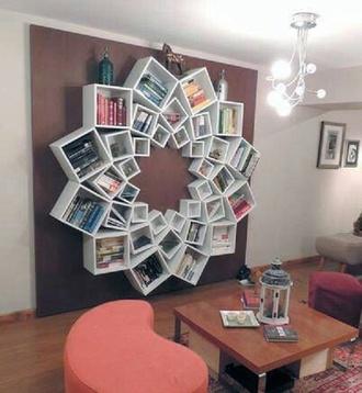 home accessory bookshelf home decor shelves flowers mandala