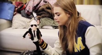 home accessory karl lagerfeld cara delevingne