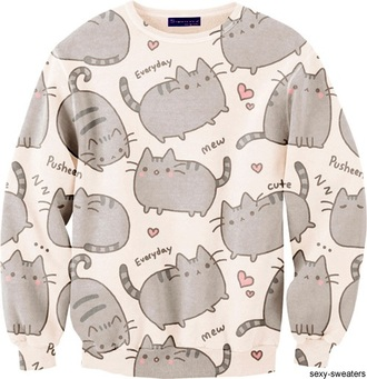 sweater cats cat sweater hoodie kawaii