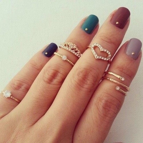 jewels cute rings knuckle ring ring ring