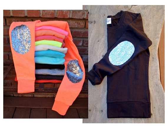 Design Your Own Dazzle Patch Sweatshirt  w/Sequin by ICaughtTheSun