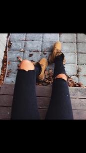 jeans,ripped jeans,grunge,hipster,black,skinny jeans,black jeans