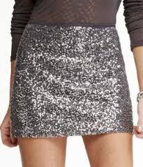 Sequin Short Skirts