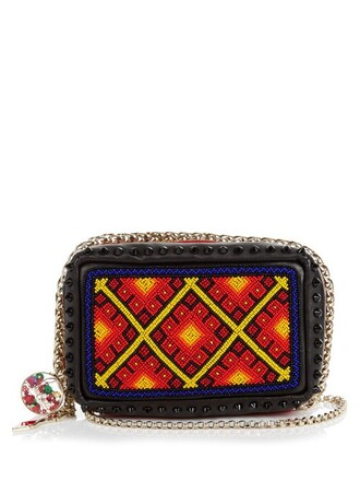 leather clutch embellished clutch leather bag