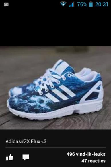 sea of shoes clothes adidas zx flux adidas shoes followforfollow f4f loveit plz helpmetofindit