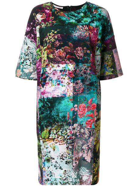 A.F.VANDEVORST dress printed dress women spandex floral cotton