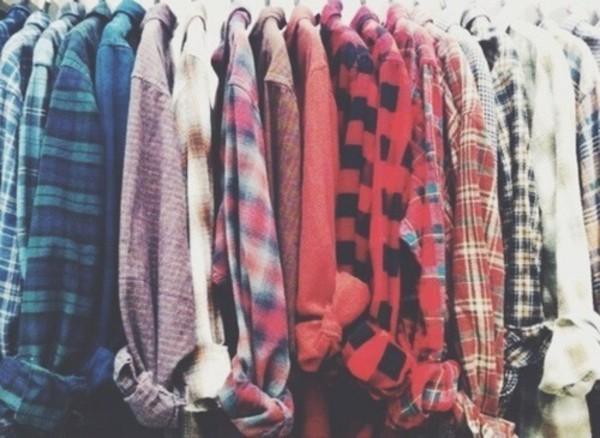 Shirt flannel shirt t-shirt button up blouse blouse ...
