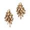 Elizabeth cole sydney earrings - nude