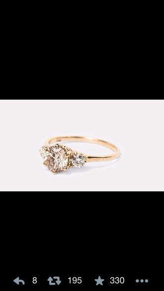 jewels gold diamonds fabulous ring gold rings gold ring diamond ring the golden diamonds