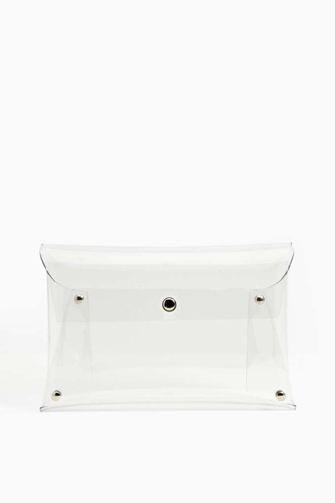 Nasty Gal Look See Clutch - SOLD OUT in  What's New at Nasty Gal