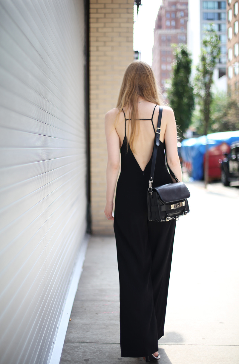 Line & Dot jumpsuit | Fashion Squad
