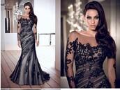 applique dress,lace dress,evening dress,black dress,women dress,hot dress,mermaid prom dress,pleated dress,design dress,long sleeve dress