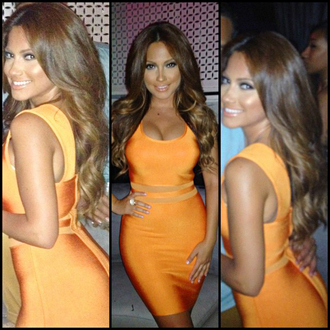 dress dream it wear it clothes orange orange dress mesh mesh dress bandage bandage dress bodycon bodycon dress party party dress sexy party dresses sexy sexy dress fall outfits winter outfits classy dress cocktail cocktail dress birthday dress girly urban holiday dress holiday season