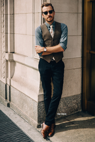 stay classic blogger shirt pants dress jacket shoes sunglasses