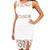 Bridget White Lace Dress | Emprada