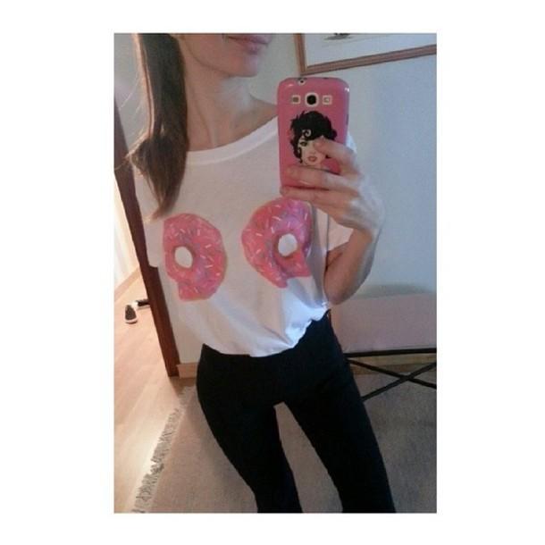 Shirt Doughnut Doughnuts Sexy
