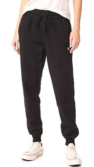 sweatpants classic black pants