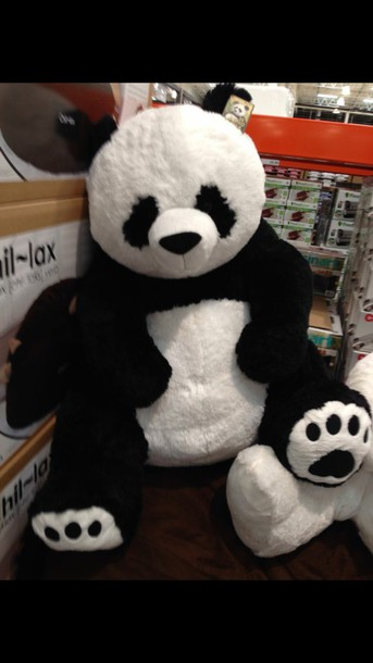 home accessory stuffed animal panda bear panda stuffed animal