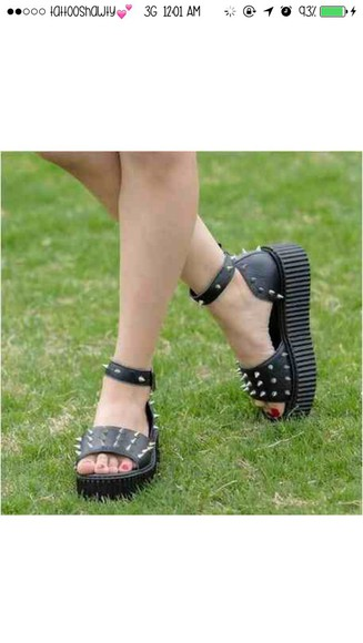 high heels sandals thick