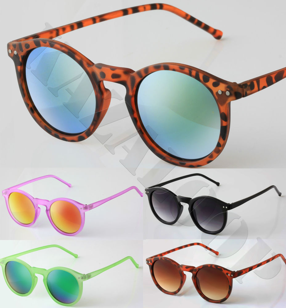 Womens Cat Eye Round Oval Lens Fashion Sunglasses Ladies Shades UV400