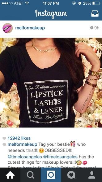 t-shirt lipstick beauty instagram