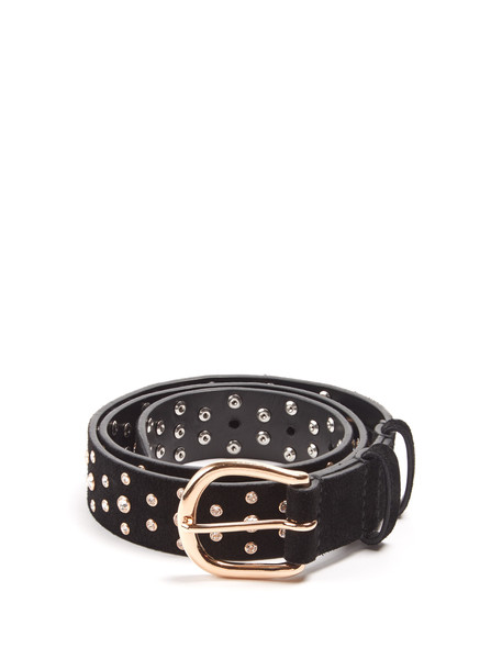 Isabel Marant embellished belt black