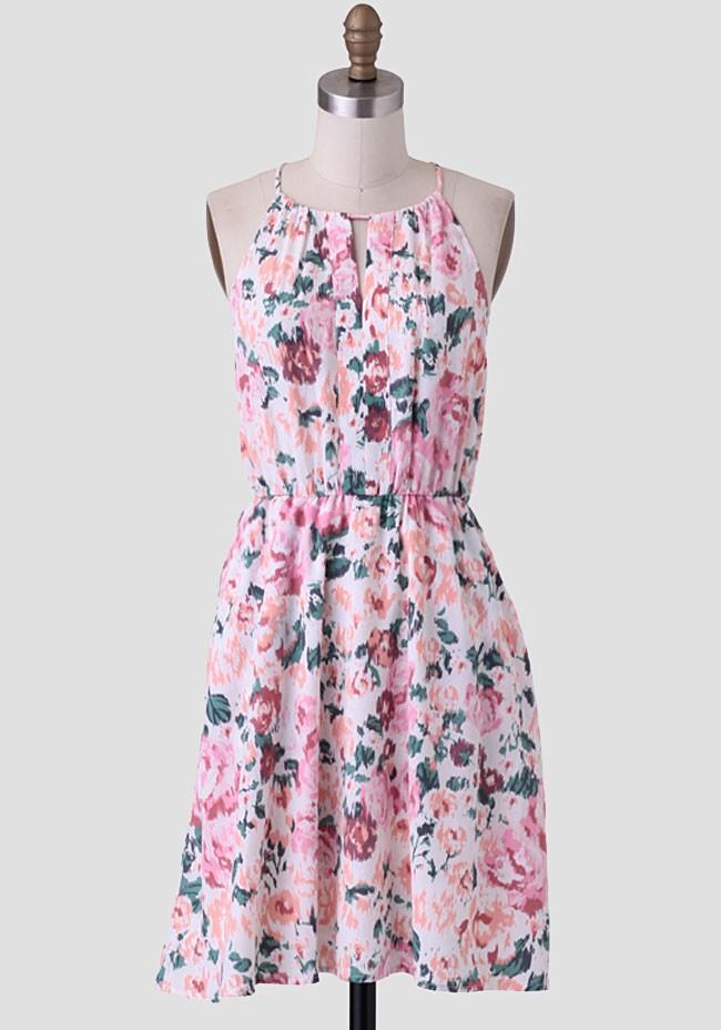 Syon house floral dress modern vintage let 39 s get lost for Modern house dress