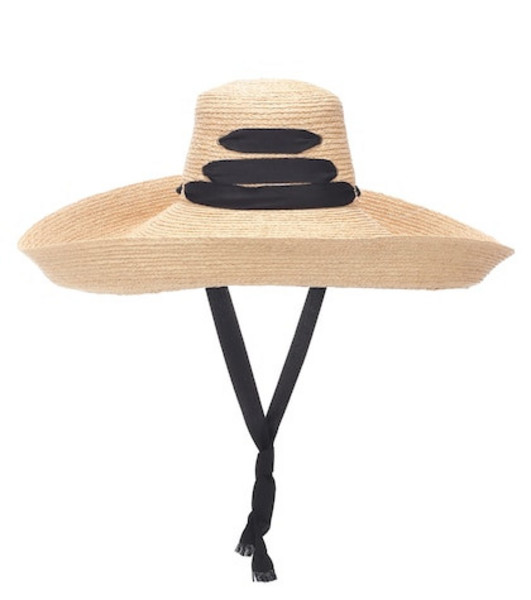 Lola Hats Espartina raffia hat in neutrals