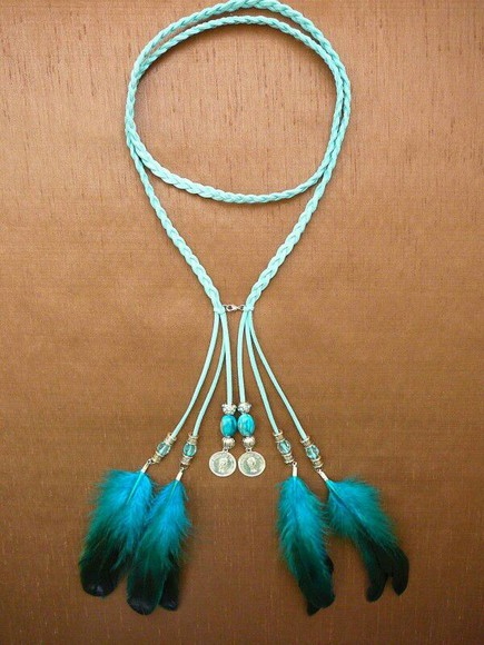jewels feather jewelry necklace sieraden