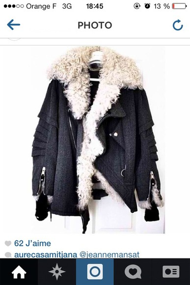 jacket coat grey jacket grey coat grey fur grey fur isabel marant shoes high heels dress pants hat t-shirt skirt