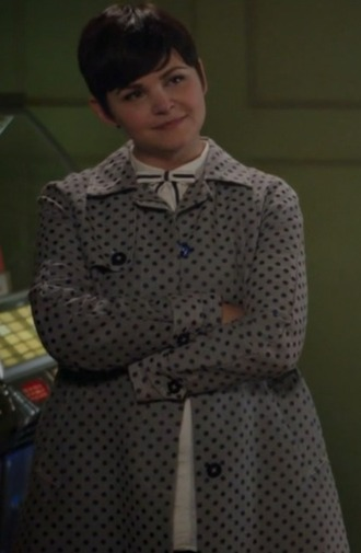 coat grey spot once upon a time show mary margaret ginnifer goodwin