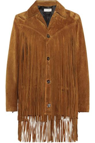 jacket suede jacket suede tan