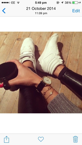 shoes white sneakers high tops trainers midtops