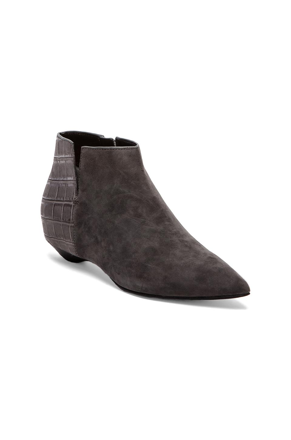 Sigerson Morrison Gabrielle Bootie in Deep Grey & Steel Grey from REVOLVEclothing.com