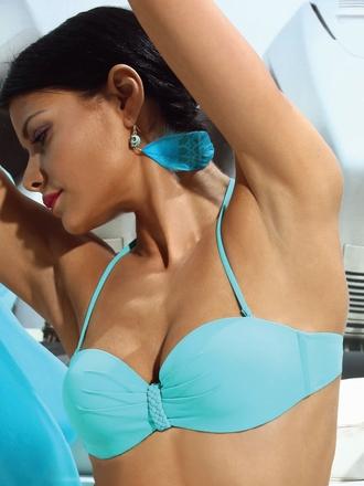 Celestial bandeau bikini top