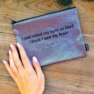 bag pink pencil case