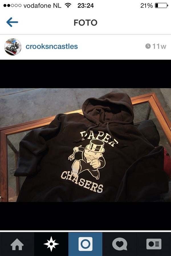 sweater crooks n castle