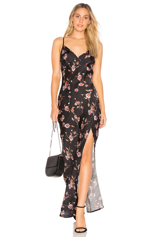 Cleobella Josie Wrap Dress In Black Wheretoget