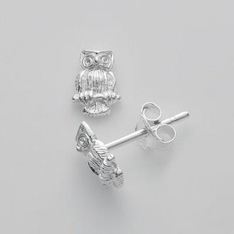jewels earrings owl jewerly owl studs