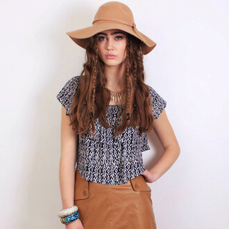 hat brown hat fashion outfit accessory