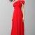 One Shoulder And Sleeve Red Formal Dress KSP057 [KSP057] - £98.00 : Cheap Prom Dresses Uk, Bridesmaid Dresses, 2014 Prom & Evening Dresses, Look for cheap elegant prom dresses 2014, cocktail gowns, or dresses for special occasions? kissprom.co.uk offers various bridesmaid dresses, evening dress, free shipping to UK etc.