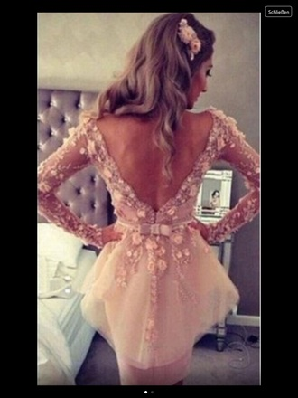dress rose prom prom dress