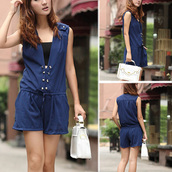 jumpsuit,fahsion,clothes,top,girl,beautiful,cute,elegant,new,preppy,colorful