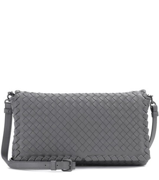 Bottega Veneta bag shoulder bag leather grey