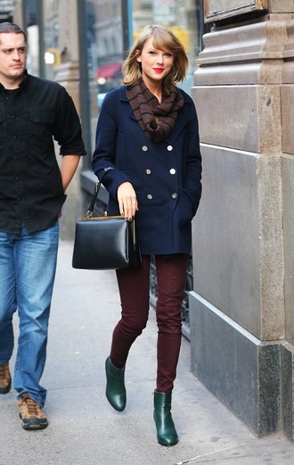 coat boots ankle boots taylor swift shoes
