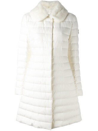 Moncler Gamme Rouge White Coat - Shop for Moncler Gamme Rouge
